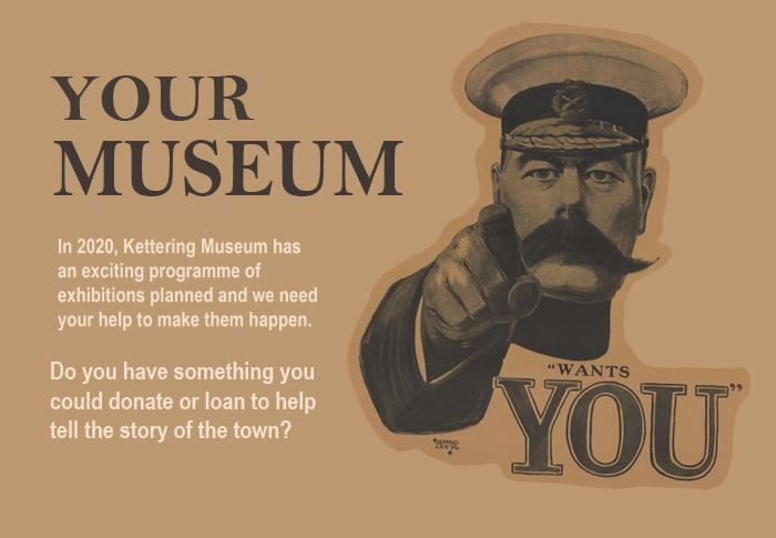 your museum wants you